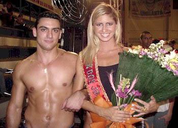 Fernando e Daniela levaram o título de Rei e Rainha do XIX Jogos da UNISANTA